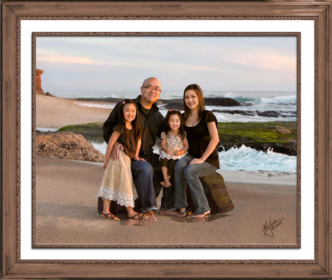 Orange County Family Beach Portraits by Mark Jordan Photography