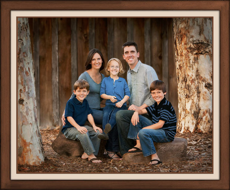 Orange County Family Portraits by Mark Jordan Photography