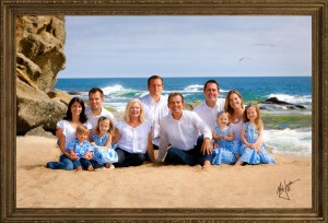 Orange County Beach Portrait by Mark Jordan Photography, Family Portrait Sessions