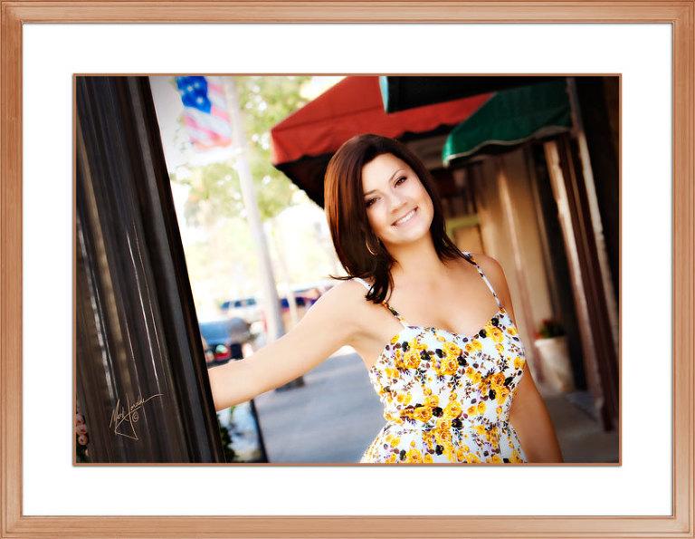High School Senior Portraits by Orange County Headshot Photographer