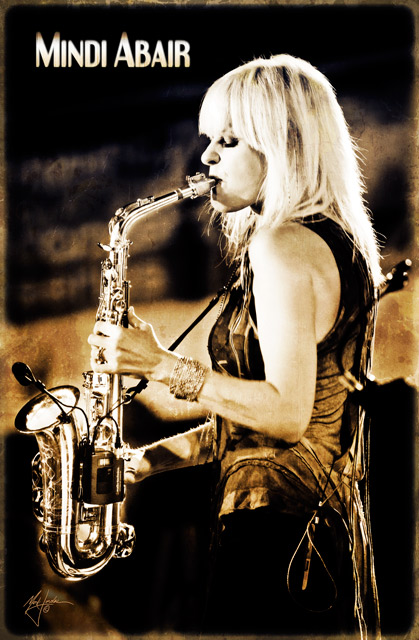 Saxophonist Mindi Abair In Concert by Orange County Photographer, Mark Jordan