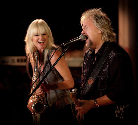 Mindi Abair, David Pack In Concert In Concert by Orange County Photographer, Mark Jordan