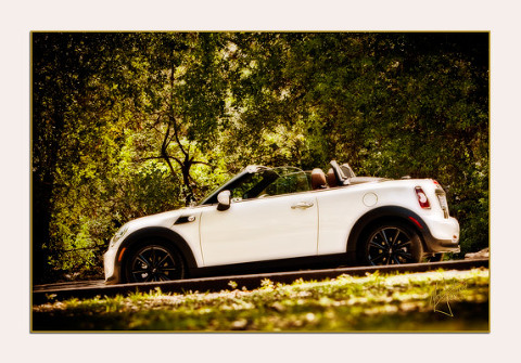 Orange County Mini Cooper by Orange County Fine Art Photographer