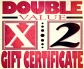 Double the Value Gift Certifcate, Portrait Specials - Gift Certificates